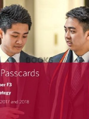 bpp cima f3 financial strategy passcards 2018