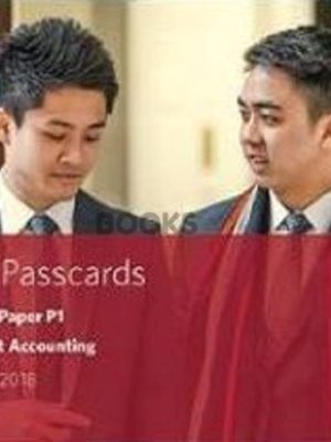 bpp cima p1 Management Accounting Passcards 2018