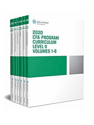 Wiley CFA Program Curriclum Level II Volumes 1 to 6 2020