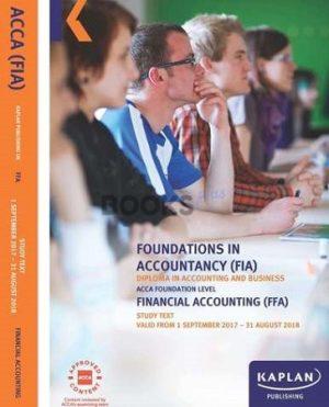kaplan fia ffa financial accounting study text 2017 2018