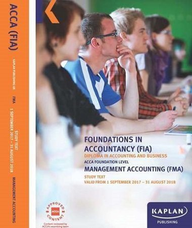 kaplan fia fma management accounting study text 2017 2018