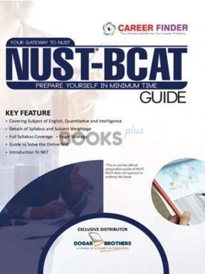 NUST BCAT Guide Latest Edition Career Finder Dogar Brothers