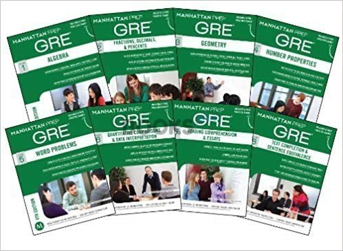 Manhattan Prep GRE Set of 8 Strategy Guides 4th Edition