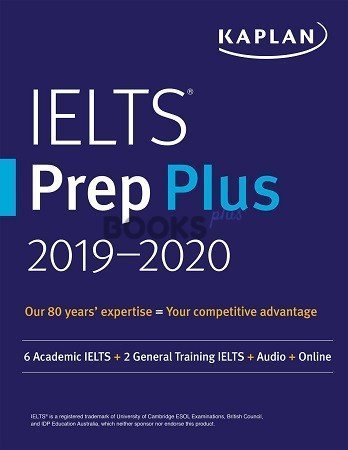 Kaplan IELTS Prep Plus 2019 2020