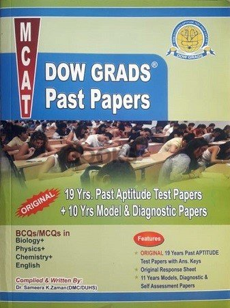 MCAT Dow Grads Past Paper 2019 Edition