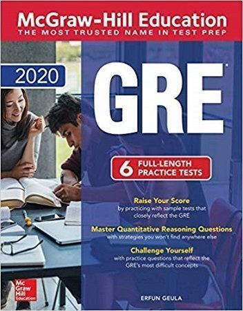 GRE 2020 McGraw Hill 6 Practice Tests