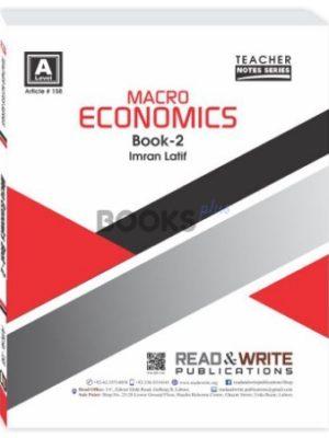 Macro Economics Book 2 AS Level Notes Imran Latif