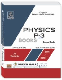 Physics A Level P-3 Yearly worked Solution