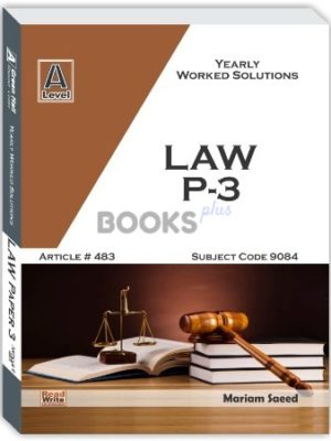 Law AS Level Paper 3
