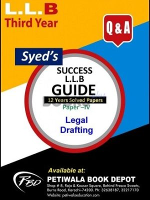 Paper 4 Legal Drafting 12 years Solved Papers
