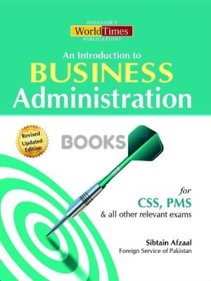 An Introduction to Business Administration JWT