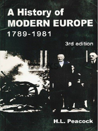 A History of Modern Europe 1789-1991 3rd Edition (2)