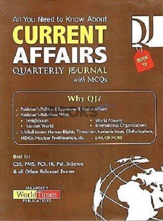 Current Affairs Quarterly Journal Book 15 JWT