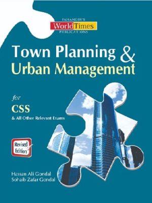Town Planning & Urban Management Jahangir 2019