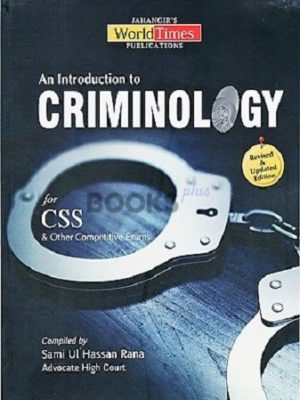 An Introduction To Criminology For CSS JWT