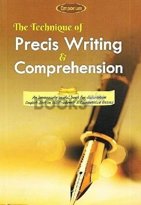 The Technique of Precis Writing & Comprehension Emporium (2)