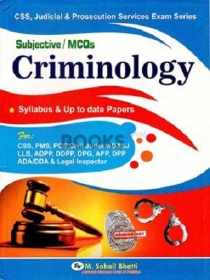 Criminology Subjective MCQs Bhatti Sons