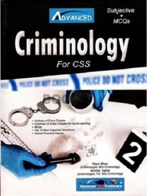 Criminology Subjective MCQs Advanced Publishers