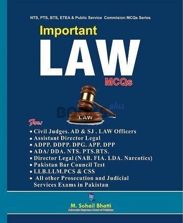 Important LAW MCQs Bhatti Sons