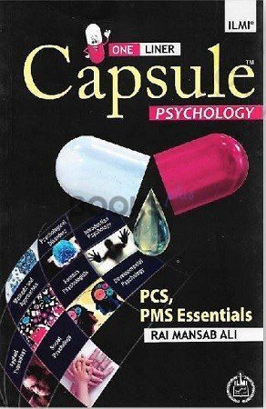 One Liner Capsule Psychology Ilmi