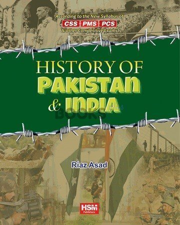 History of Pakistan & India for CSS PMS PCS HSM