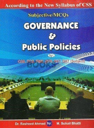 Governance & Public Policies Bhatti Sons