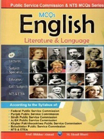 English Literature & Language MCQs Bhatti Sons