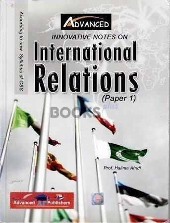 International Relations Paper 1 Advanced Publishers