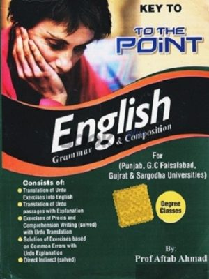 Key to the Point English Grammar & Composition aftab ahmad