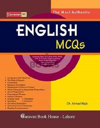English MCQs for Screening Test Caravan