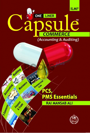 One Liner Capsule Commerce Accounting & Auditing Ilmi