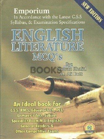English Literature MCQ's Emporium Publishers