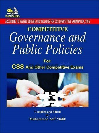 Competitive Governance & Public Policies for CSS AH Publishers
