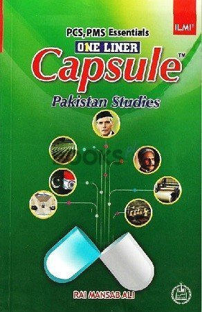 One Liner Capsule Pakistan Studies Ilmi