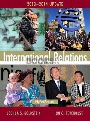 International Relations 10th Edition Jon Pevehouse Joshua Goldstein