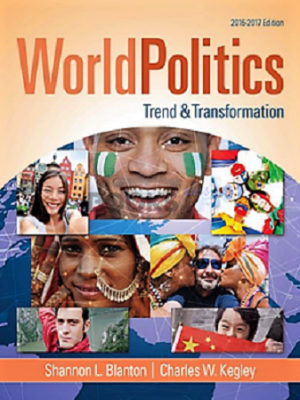 World Politics Trend & Transformation 2016-17