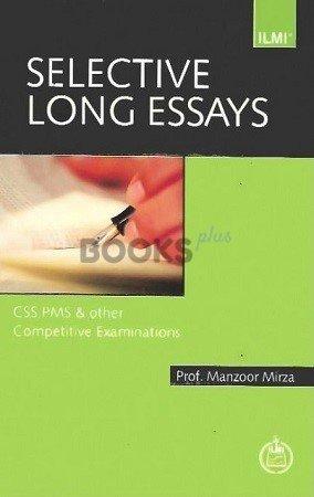ILMI Selective Long Essays manzoor mirza