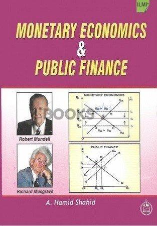 ILMI Monetary Economics and Public Finance M.A. Part II Hamid Shahid