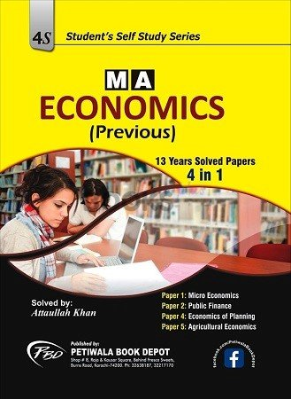 M A Economics Previous 13 years Solved Papers