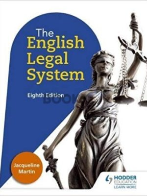 The English Legal System 8th Edition Hodder Education