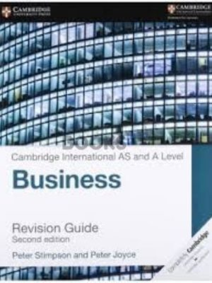 Cambridge International AS & A Level Business Revision Guide 2nd Edition