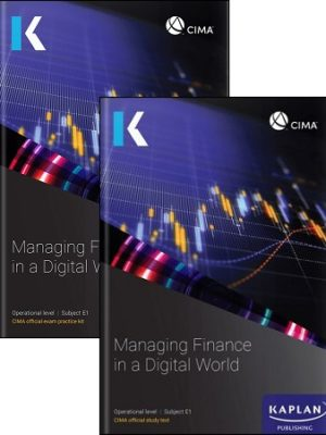 CIMA E1 Exam Kit Study Text 2019