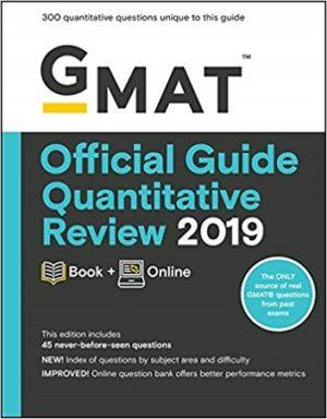 GMAT Official Guide Quantitative Review 2019