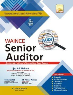 Senior Auditor Waince Academy 2019
