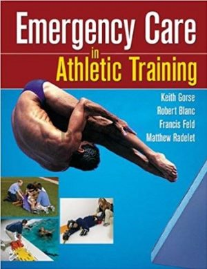 Emergency Care in Athletic Traning