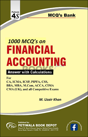 1000 MCQs on Financial Accounting