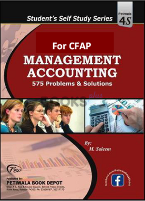 CFAP 575 Problems & Solutions Cost & Management Accounting