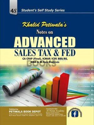 Khalid Petiwalas Notes on Advanced Sales Tax & FED