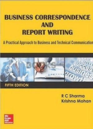 Business Correspondence & Report Writing r c sharma 5th edition