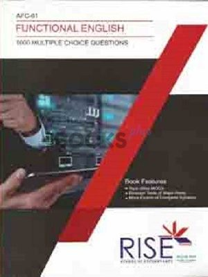 CA AFC 1 Functional English 1000 MCQs Rise Publications
